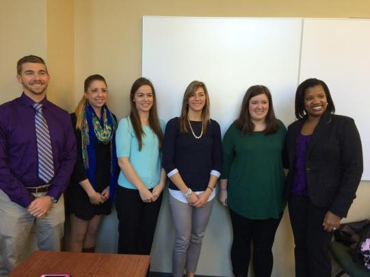 "Picture from ""After the Bell Tolls"" workshop with PRSSA"